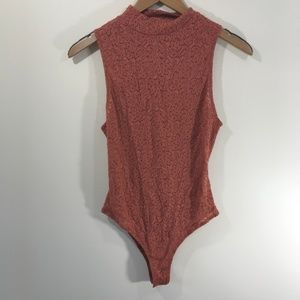Intimately Free People Lace Bodysuit Size Small